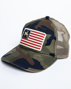 Idyllwind Women's Star Spangled Camo Baseball Cap , Camouflage, hi-res