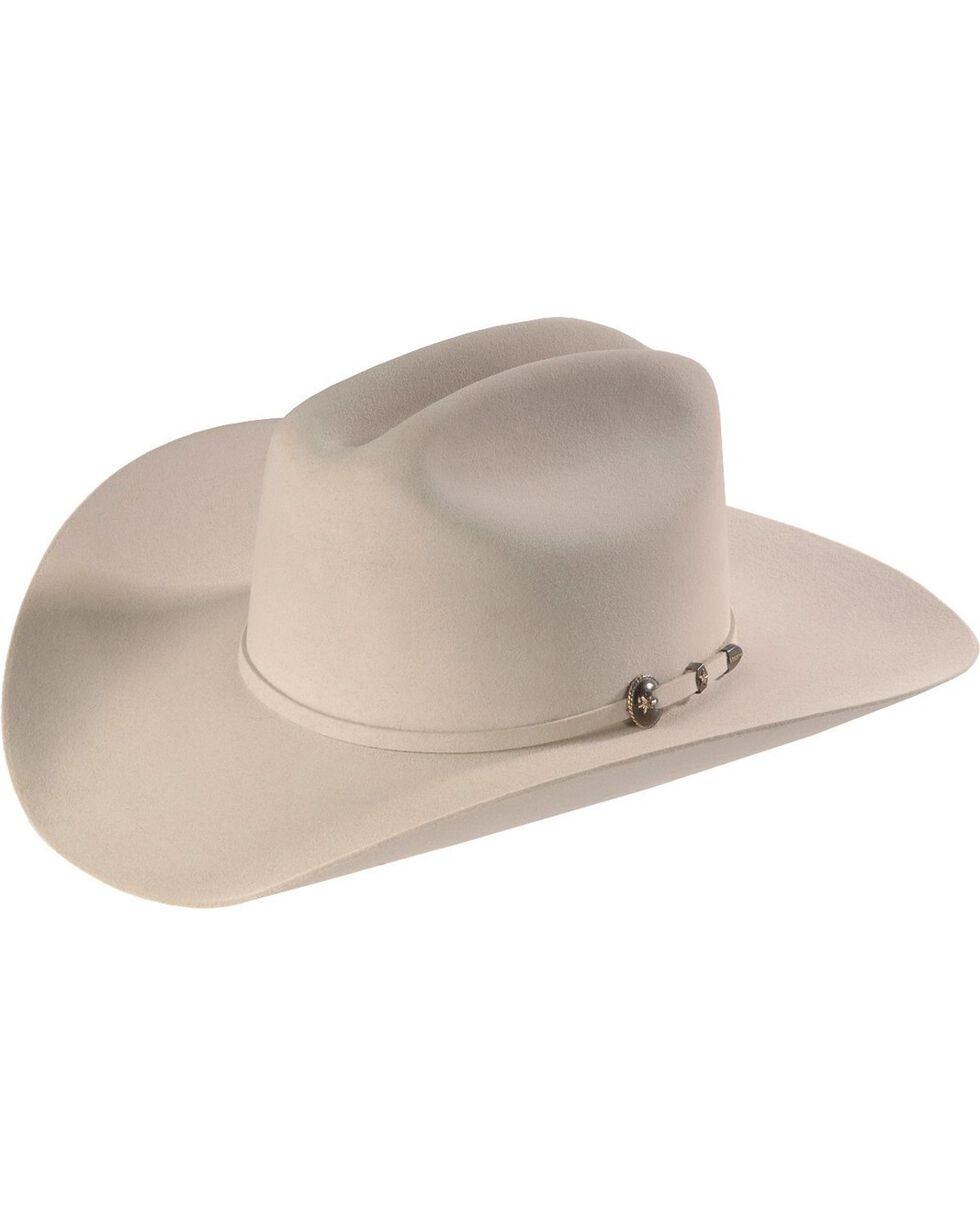 Resistol George Strait  Remuda 4X Felt Hat, Silver Grey, hi-res