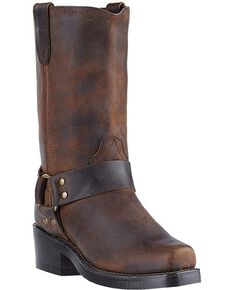 "Dingo Women's Molly 10"" Motorcycle Boots, Gaucho, hi-res"