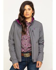 Cinch Women's Printed Bonded Carry Concealed Jacket  , Grey, hi-res