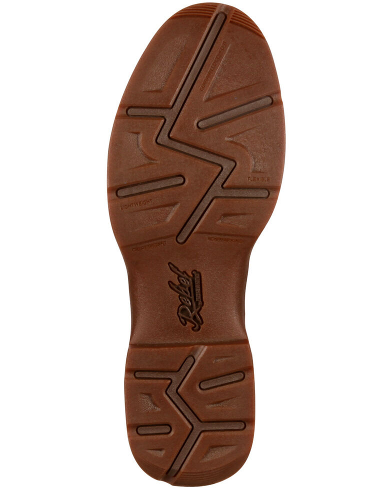 Durango Men's Rebel Saddle Western Boots, Brown, hi-res