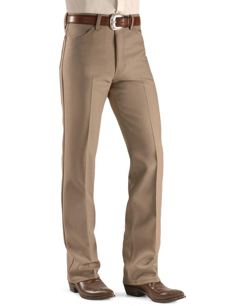 Wrangler Wrancher Dress Jeans - Big, Tan, hi-res