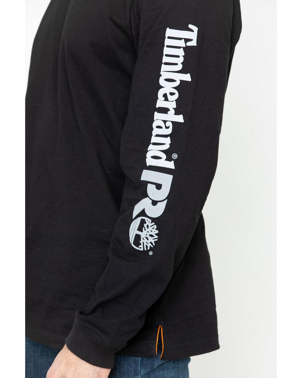 Timberland Pro Men's Black Base Plate Logo Tee , Black, hi-res