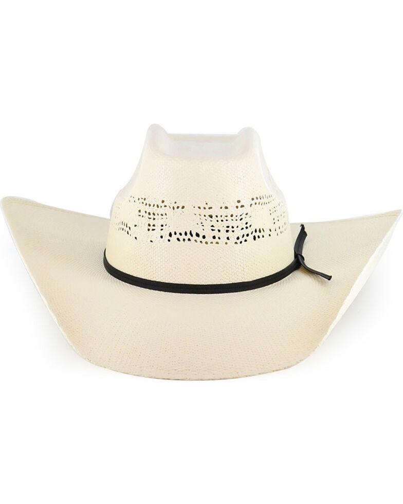 Cody James® Boys' Straw Western Hat, Natural, hi-res