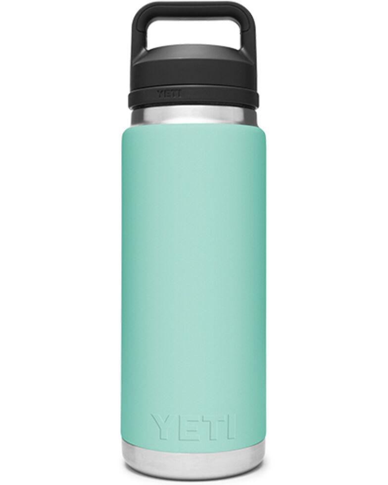 Yeti Rambler 26oz Seafoam Chug Bottle, Green, hi-res