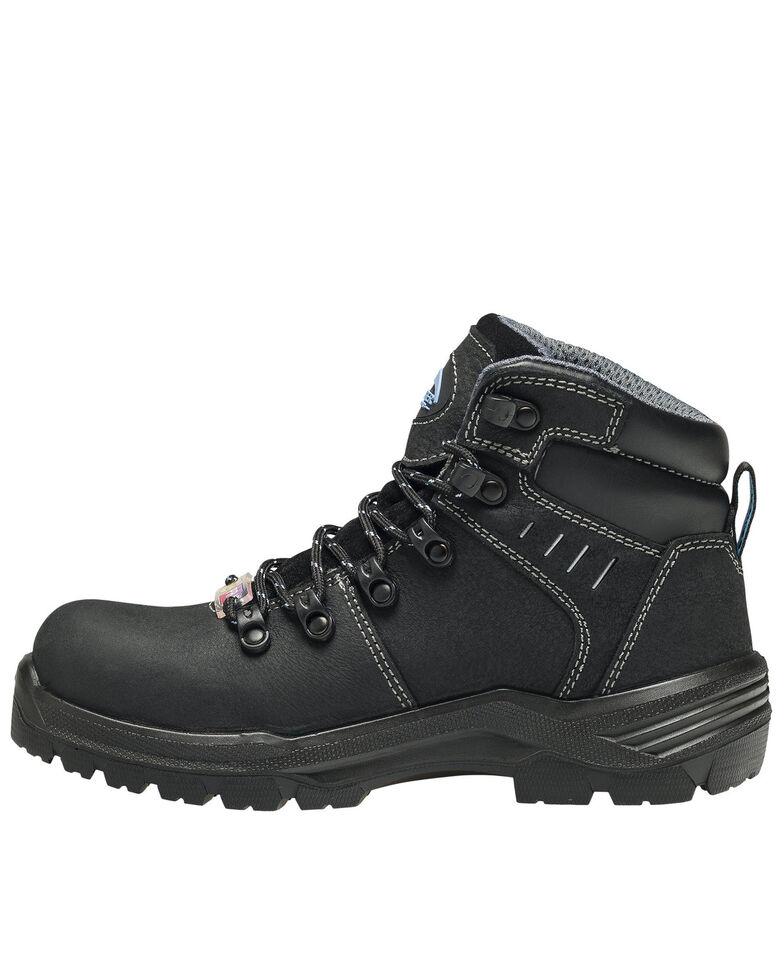 Avenger Women's Foundation Waterproof Work Boots - Composite Toe, Black, hi-res