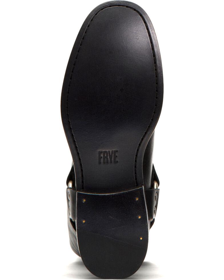 Frye Women's Black Phillip Harness Tall Boots - Round Toe , Black, hi-res
