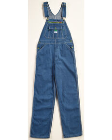 Liberty Men's Stonewashed Denim Bib Overalls, Indigo, hi-res