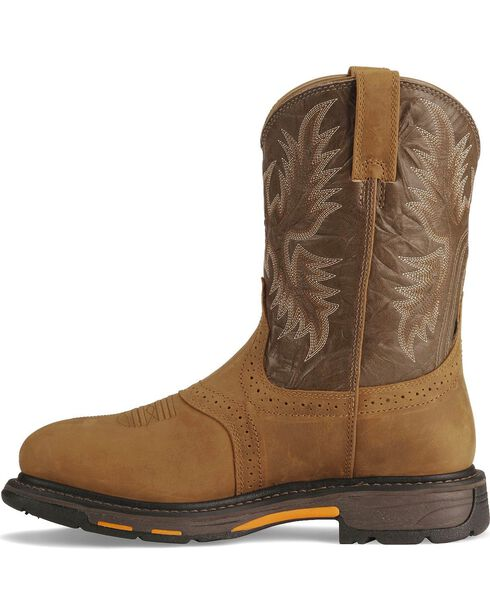 Ariat Men's Work-Hog Waterproof Pro Work Boots, Aged Bark, hi-res