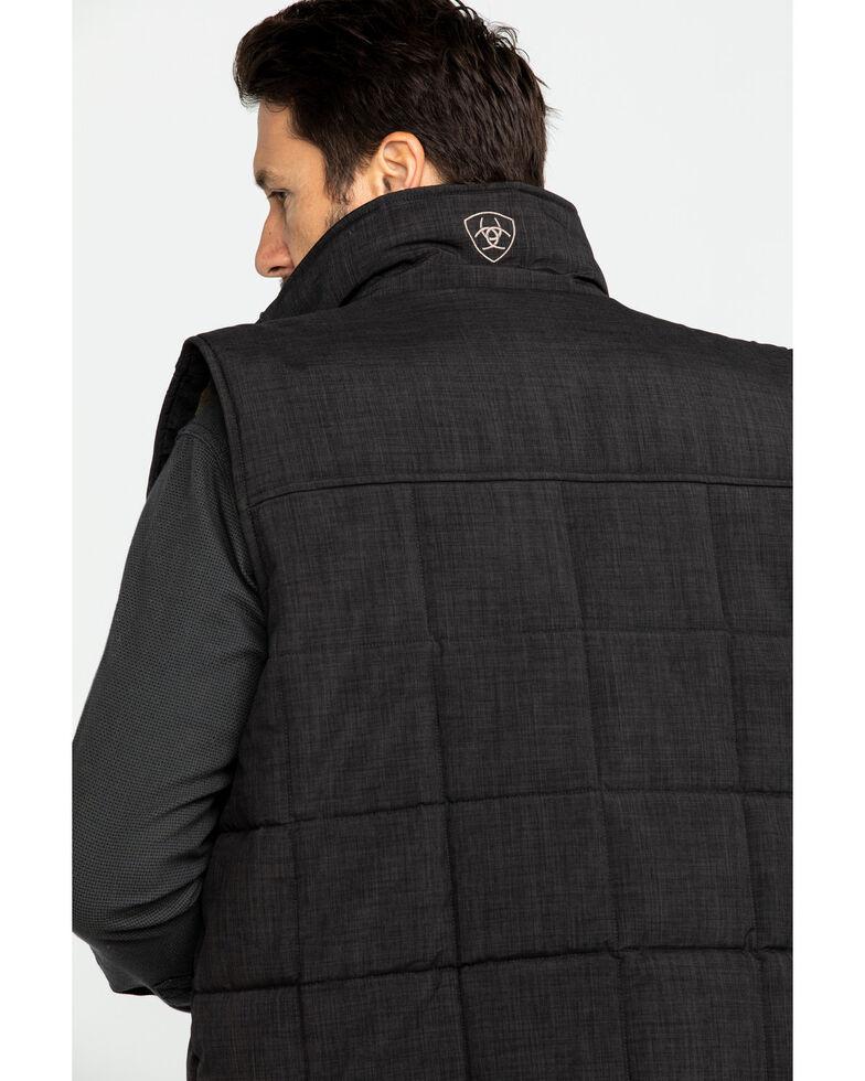 Ariat Men's Crius Zip Front Vest - Tall , Brown, hi-res