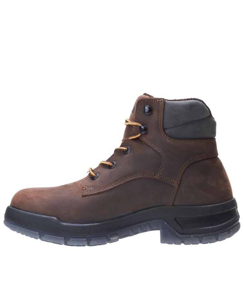 Wolverine Men's Ramparts Waterproof Work Boots - Composite Toe, Brown, hi-res