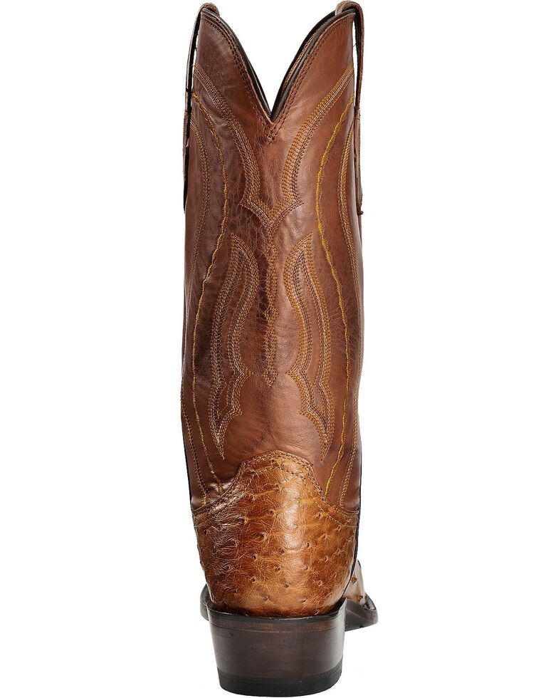 f24f5717095 Lucchese Men's Handmade 1883 Montana Full Quill Ostrich Western Boots -  Snip Toe
