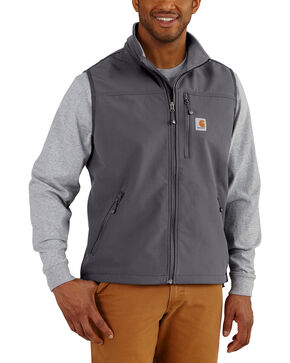 Carhartt Men's Denwood Vest , Charcoal, hi-res
