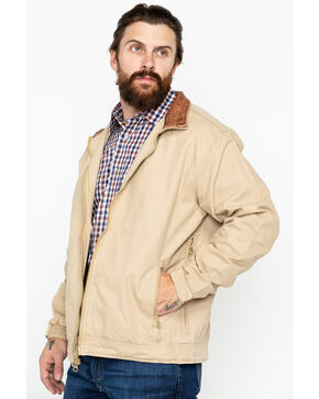 Resistol Men's Solid Open Range Jacket , Beige/khaki, hi-res