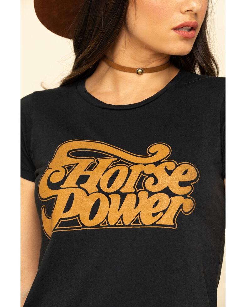 Bandit Women's Horsepower Graphic Tee, Black, hi-res