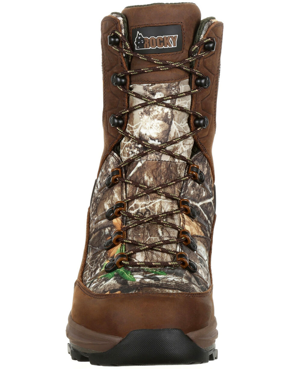 Rocky Men's Grizzly Waterproof Insulated Outdoor Boots - Round Toe, Camouflage, hi-res