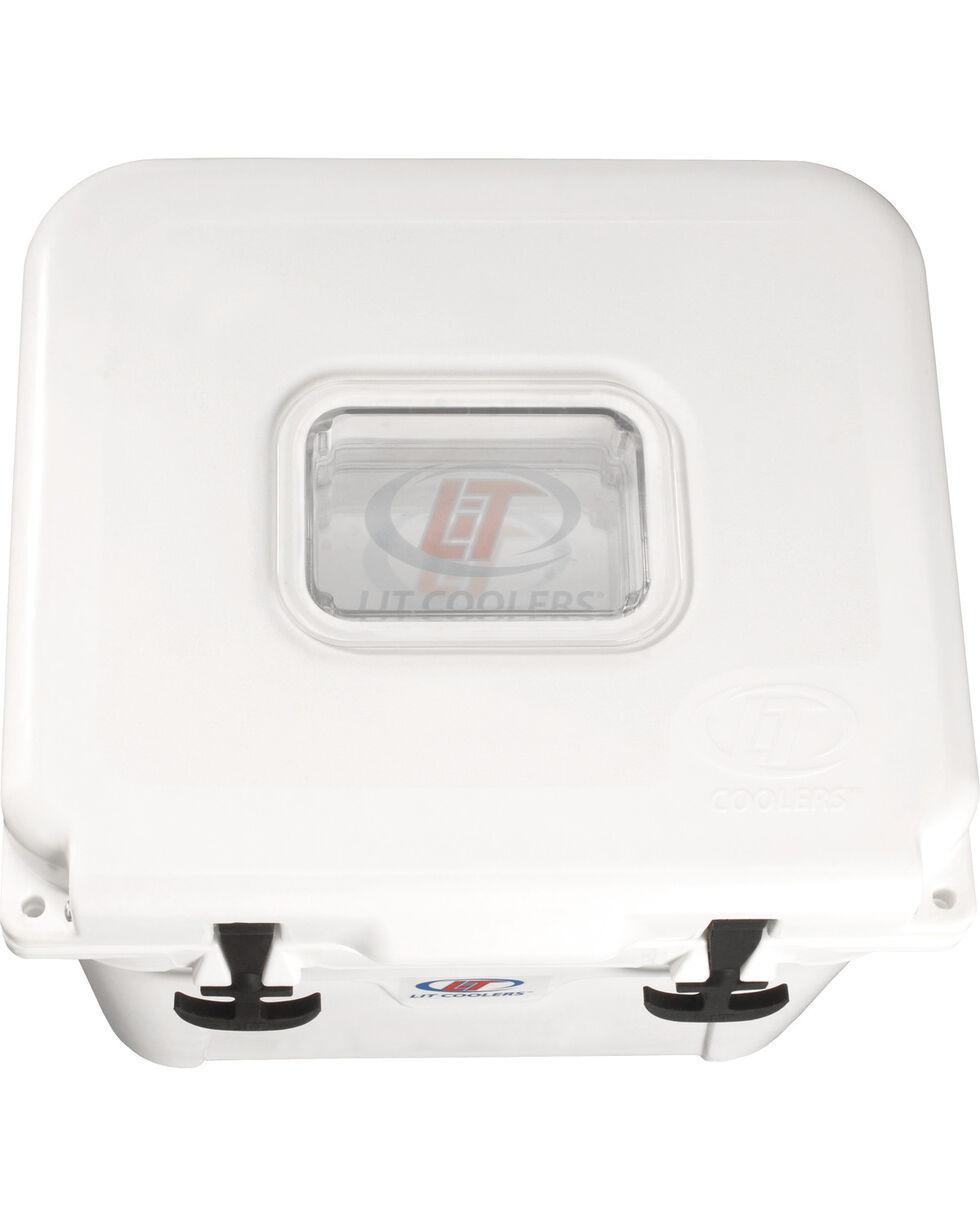 LiT Firefly TS-300 White Cooler - 22 Quart, White, hi-res