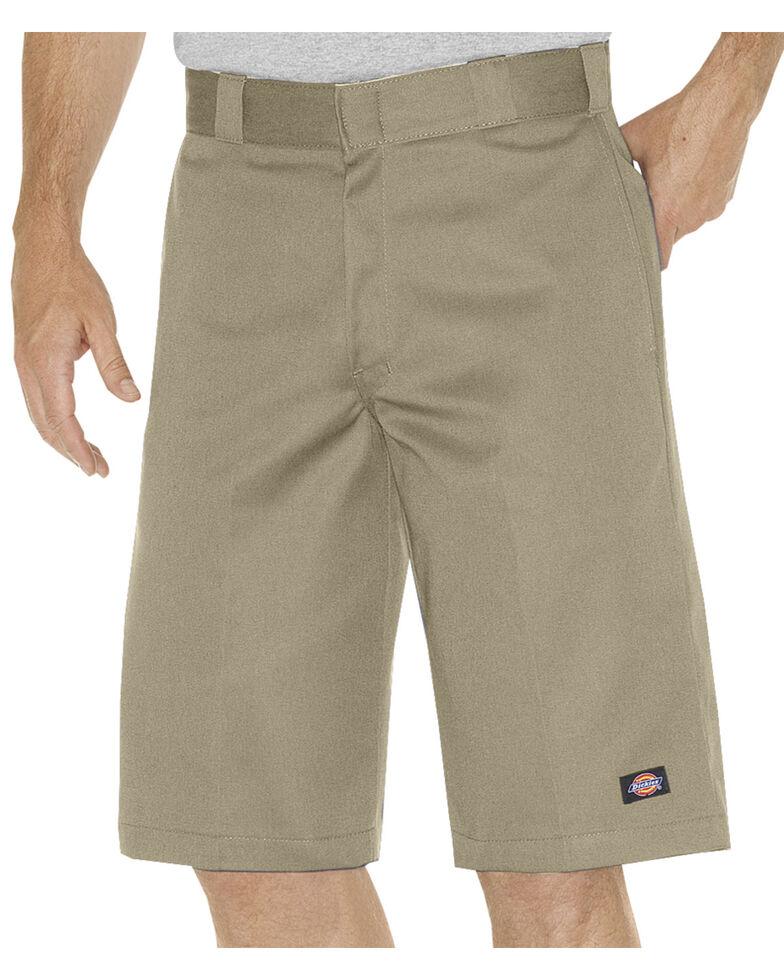 Dickies Relaxed Fit Multi Pocket Work Shorts - Tall, Khaki, hi-res