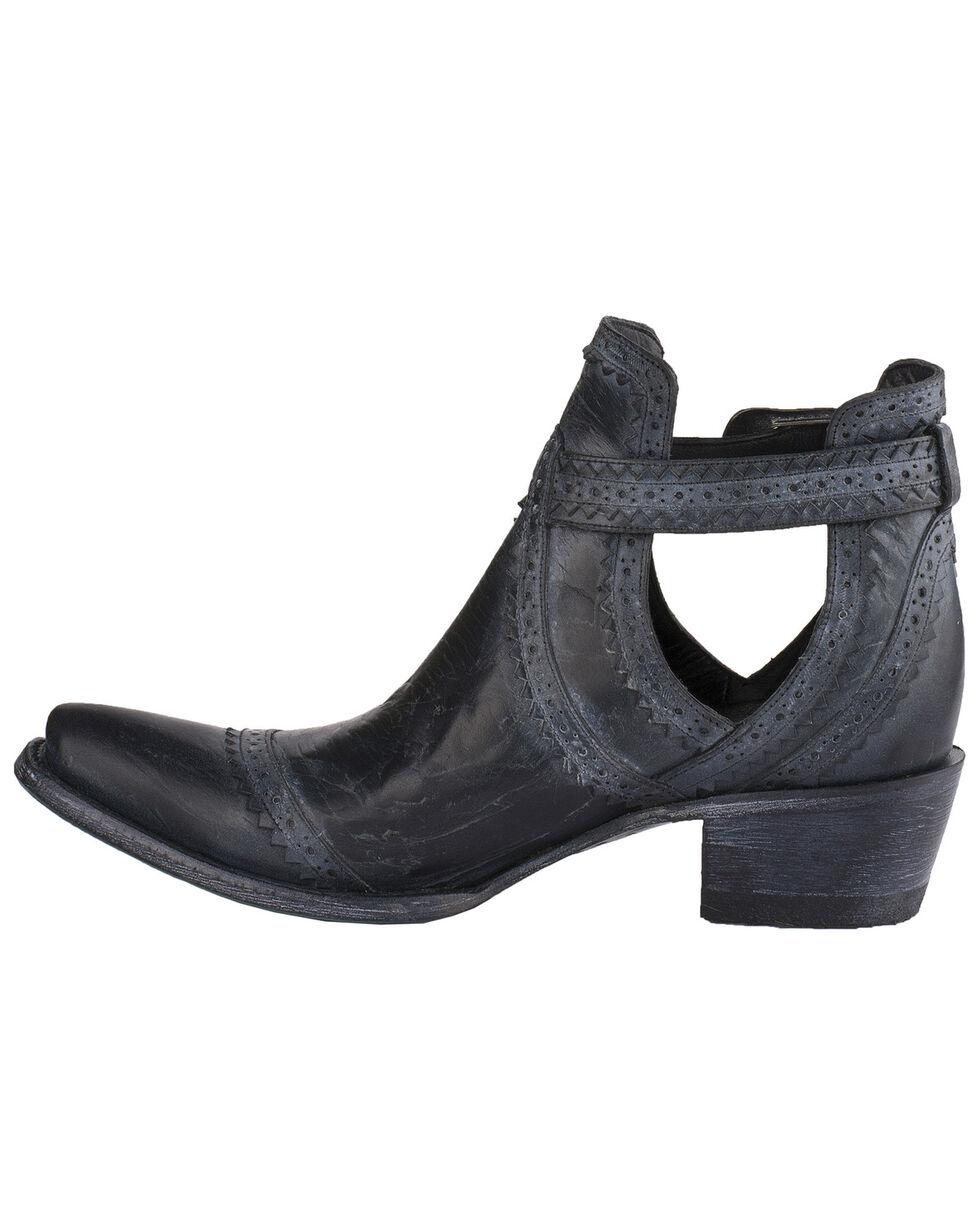 Lane Women's Black Cahoots Western Booties - Snip Toe, Black, hi-res