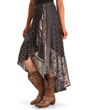 Sage The Label Women's Joscelin Skirt , Purple, hi-res