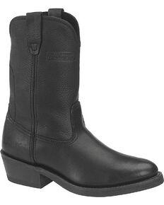 """Ad Tec Men's Wellington 11"""" Work Boots, Black, hi-res"""