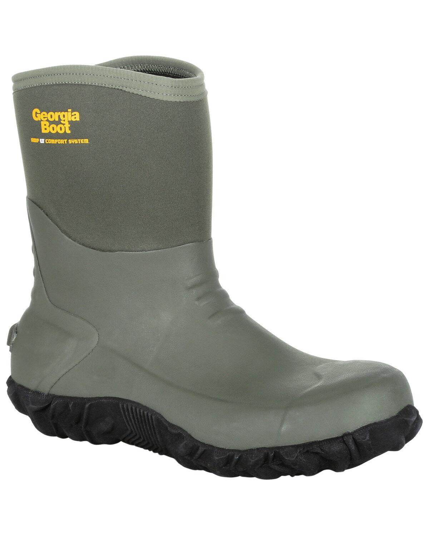 Georgia Boot Men's Mid Rubber