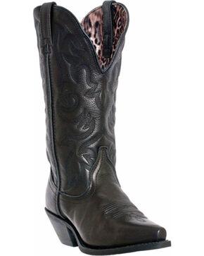 Dan Post Women's Access Snip Toe Western Boots , Black, hi-res