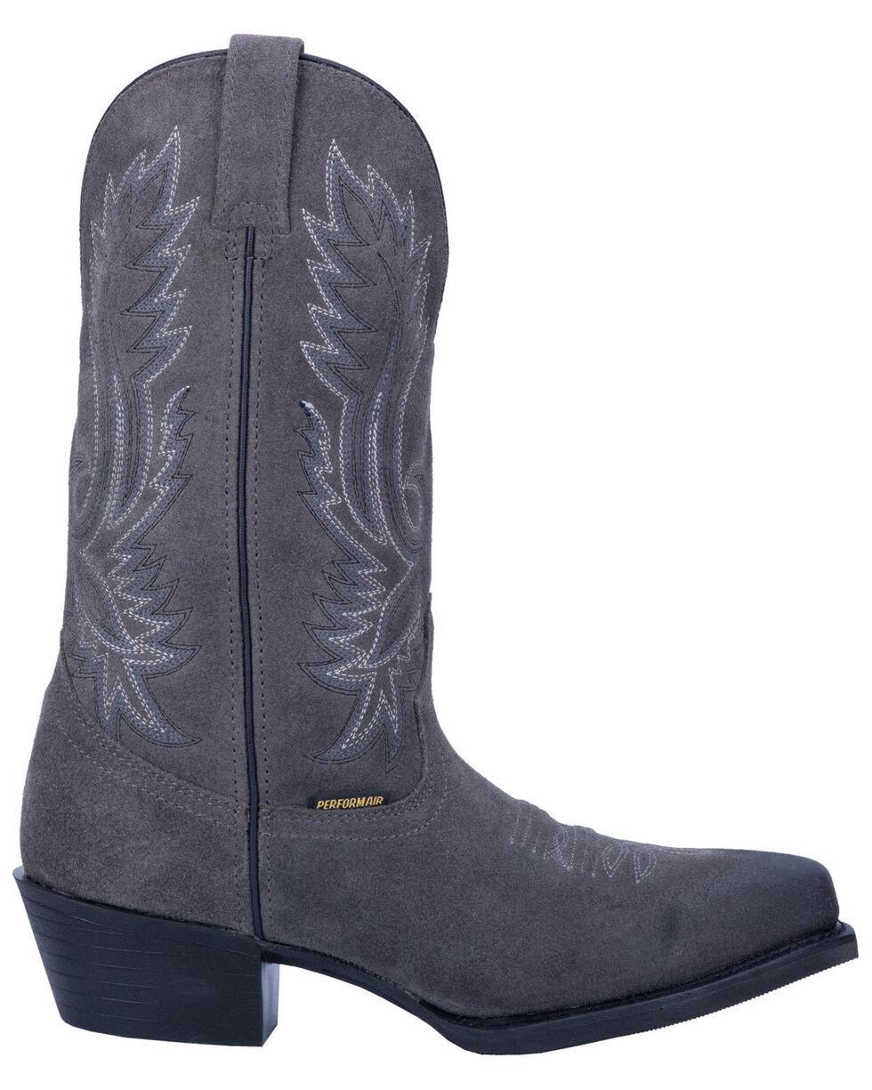 Laredo Men's Grey Colton Western Boots - Narrow Square Toe, Grey, hi-res