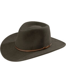 b5d3ded979 Stetson Gallatin Crushable Wool Hat