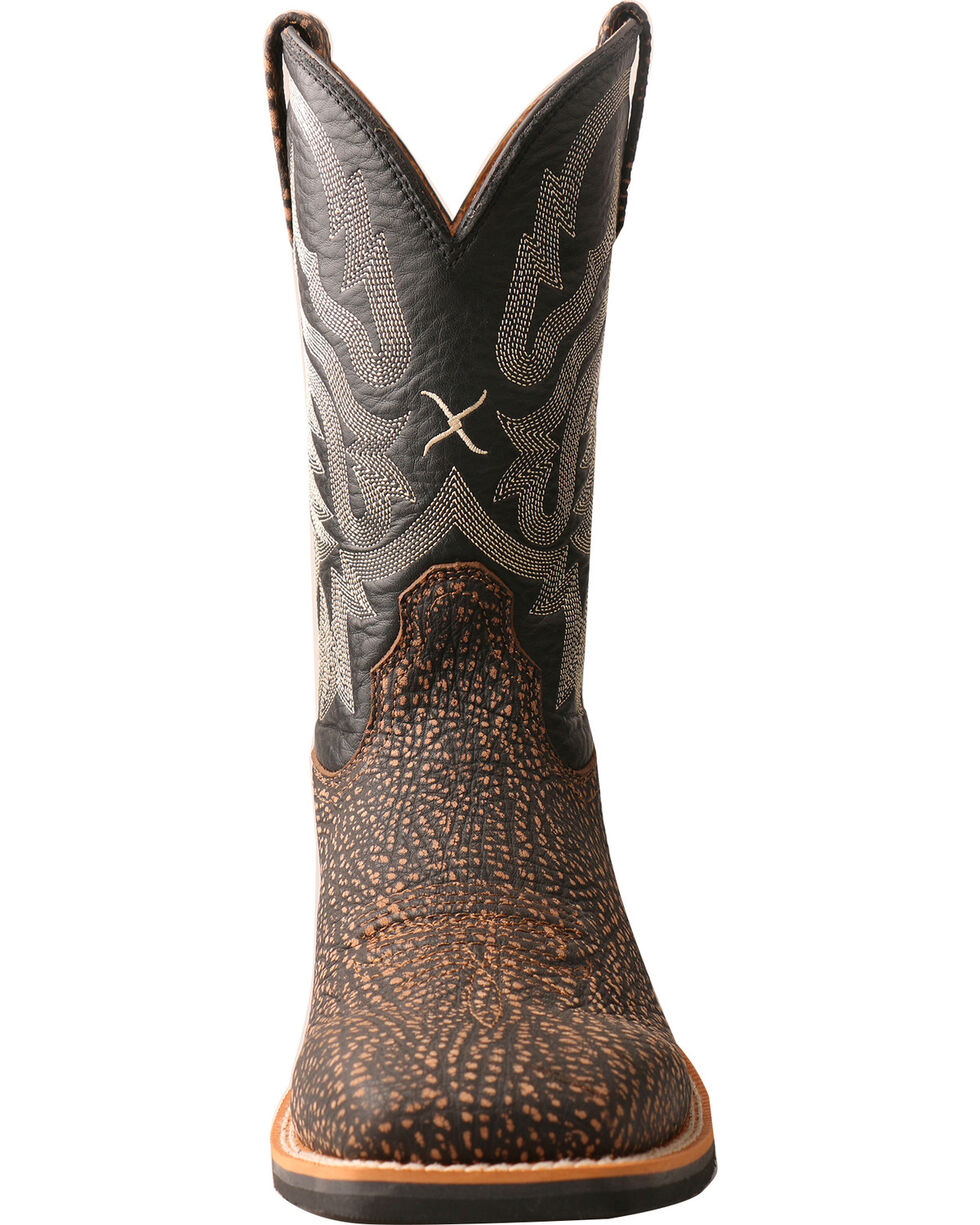 Twisted X Men's Top Hand Embossed Cowboy Boots - Square Toe, , hi-res