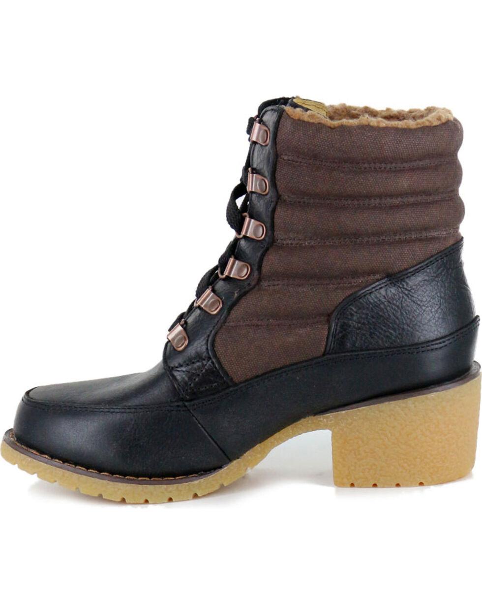 Durango Women's Cabin Lacer Boots, Black, hi-res