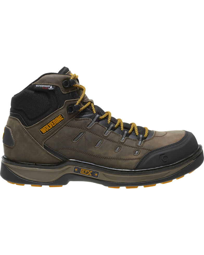 53923f99116 Wolverine Men's Edge LX Waterproof Work Boots - Composite Toe