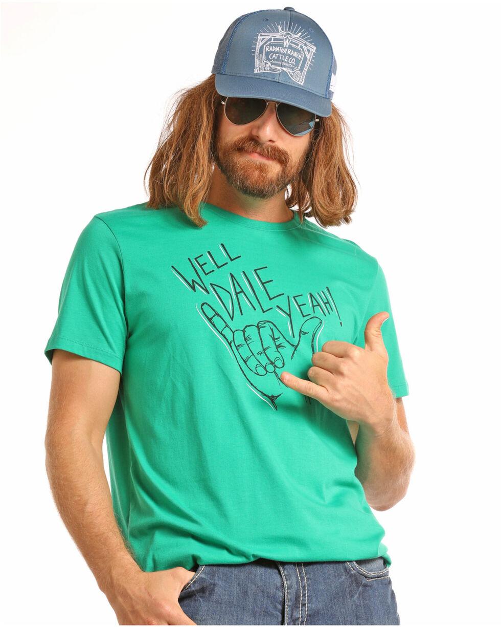 Dale Brisby Men's Dale Yeah Tee, Green, hi-res