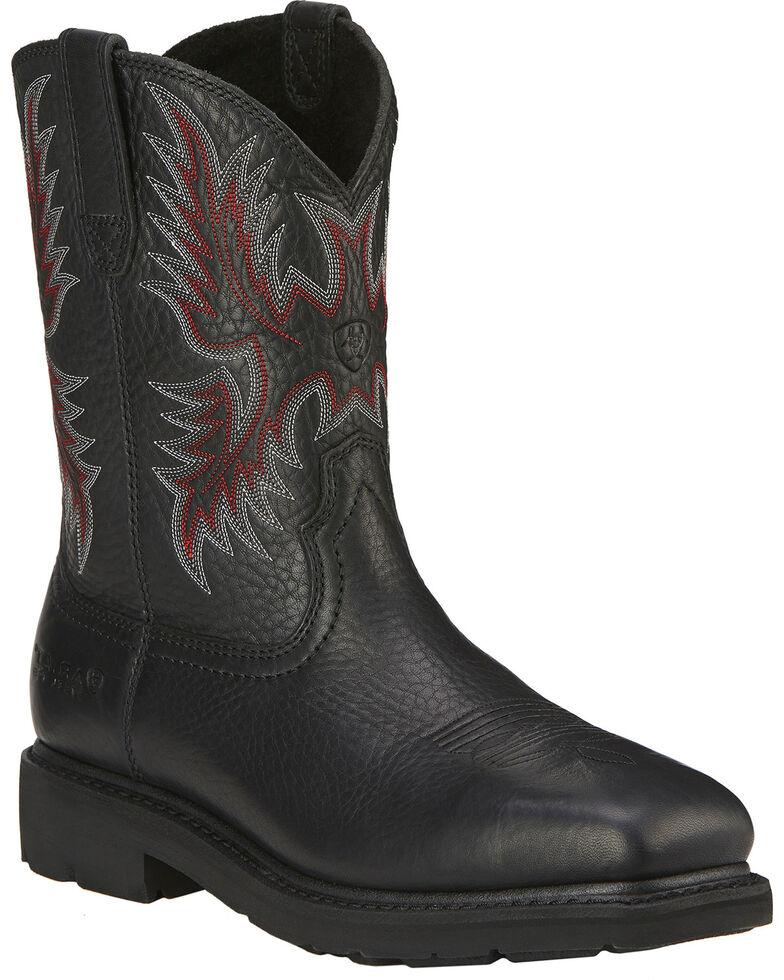 Ariat Men S Sierra Steel Toe Work Boots Boot Barn