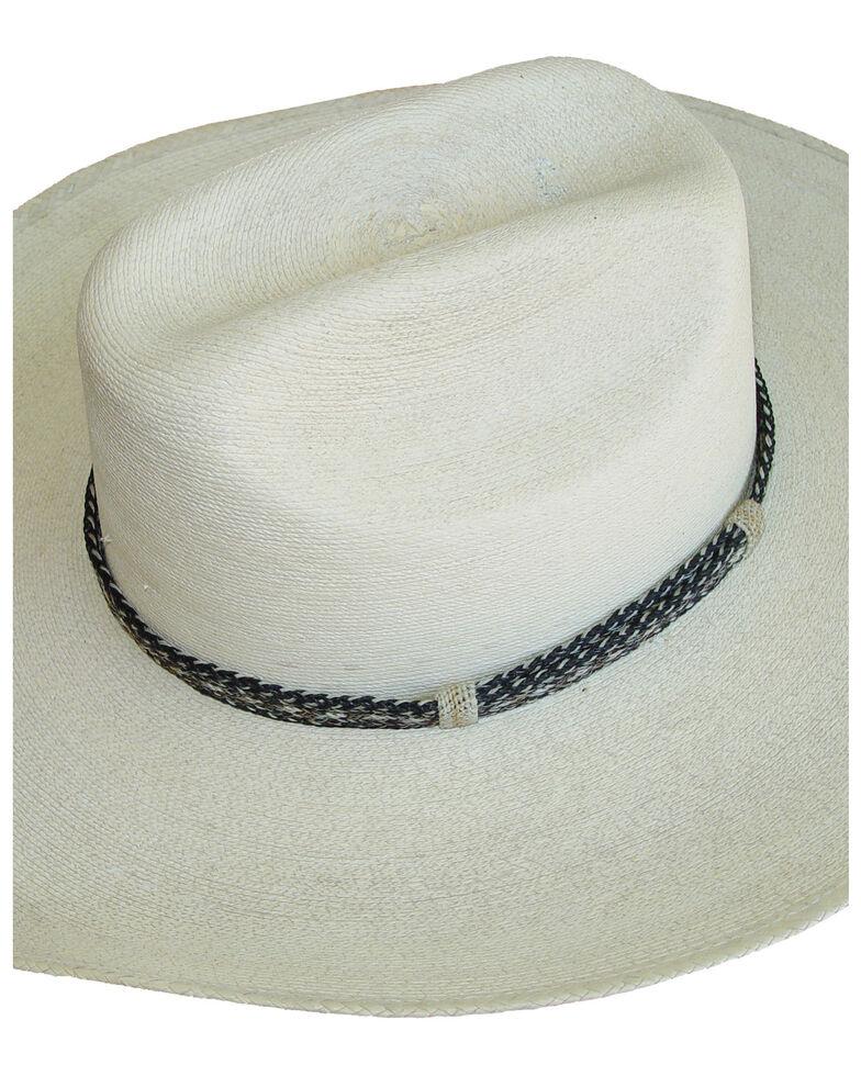 Colorado Horsehair Men's No Tassel Hatband, Natural, hi-res