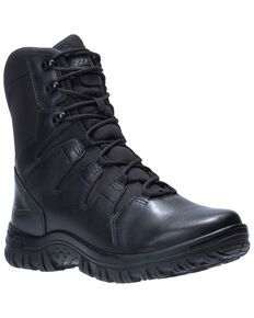 Bates Men's Maneuver Work Boots - Soft Toe, Black, hi-res