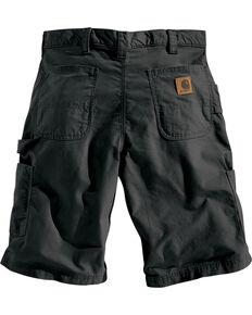 Carhartt Men's Black Canvas Work Shorts , Black, hi-res