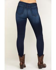 Miss Me Women's Basic Dark Wash Skinny Jeans, Blue, hi-res