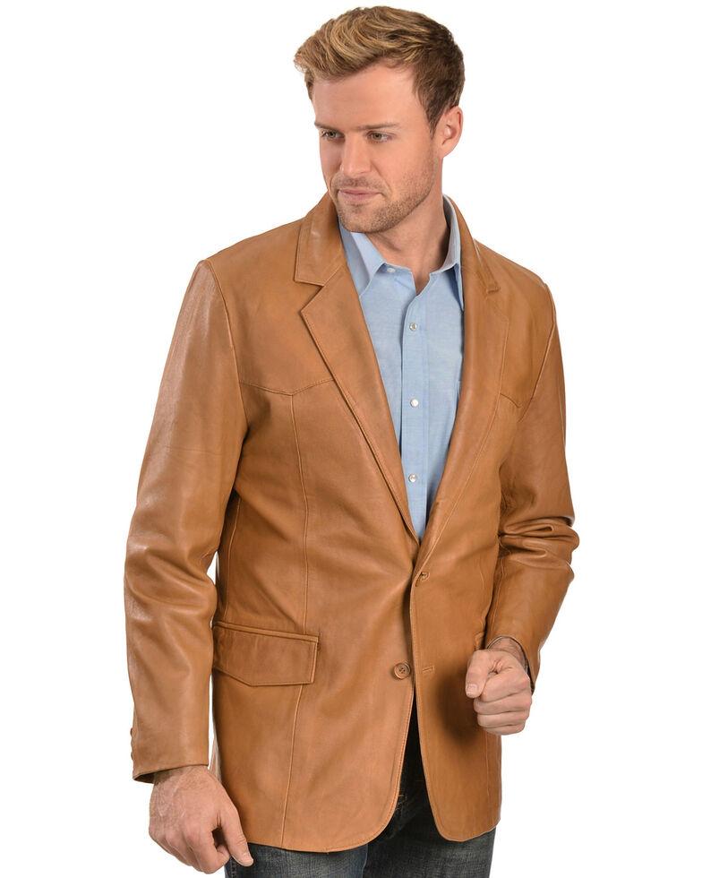 Scully Lamb Leather Blazer - Regular, Ranch Tan, hi-res