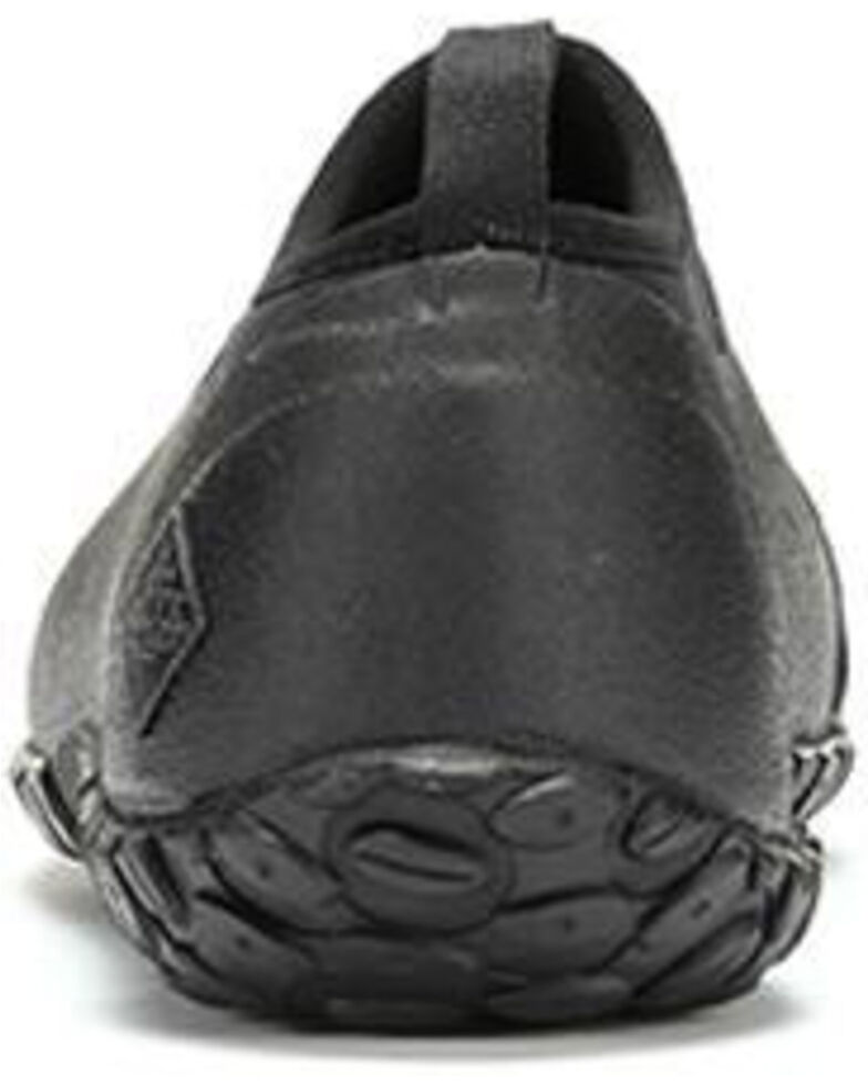 Muck Boots Men's Low Muckster II Rubber Shoes - Round Toe, Black, hi-res