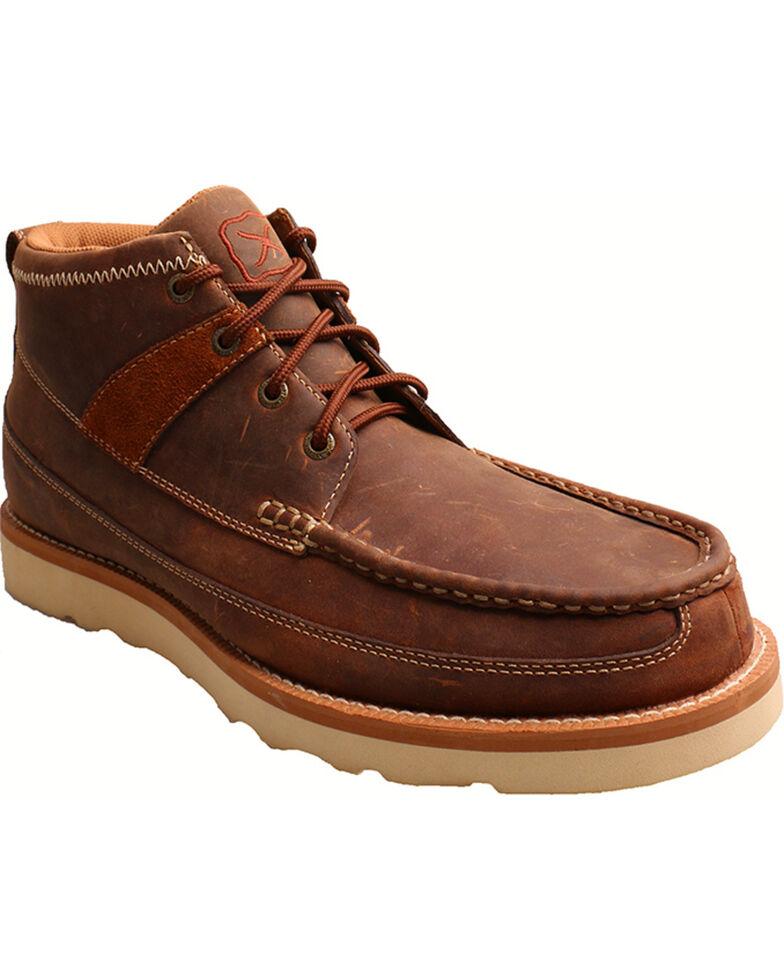 Twisted X Men's Steel Toe Work Shoes, Brown, hi-res