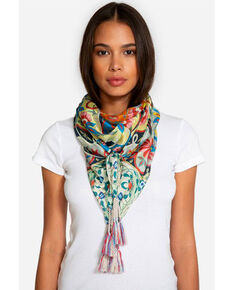 Johnny Was Women's Lentine Silk Scarf, Multi, hi-res