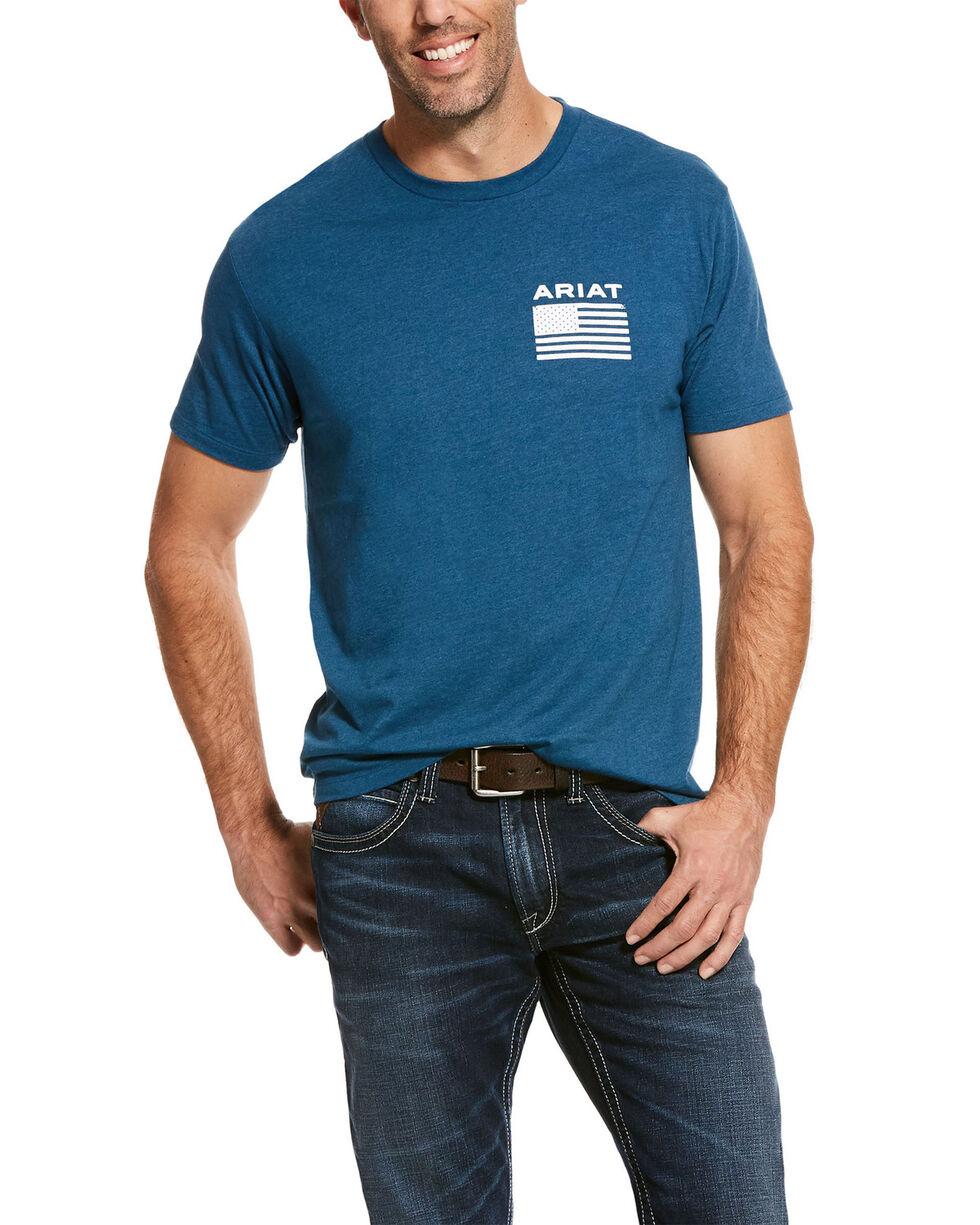 Ariat Men's Freedom Graphic T-Shirt , Blue, hi-res