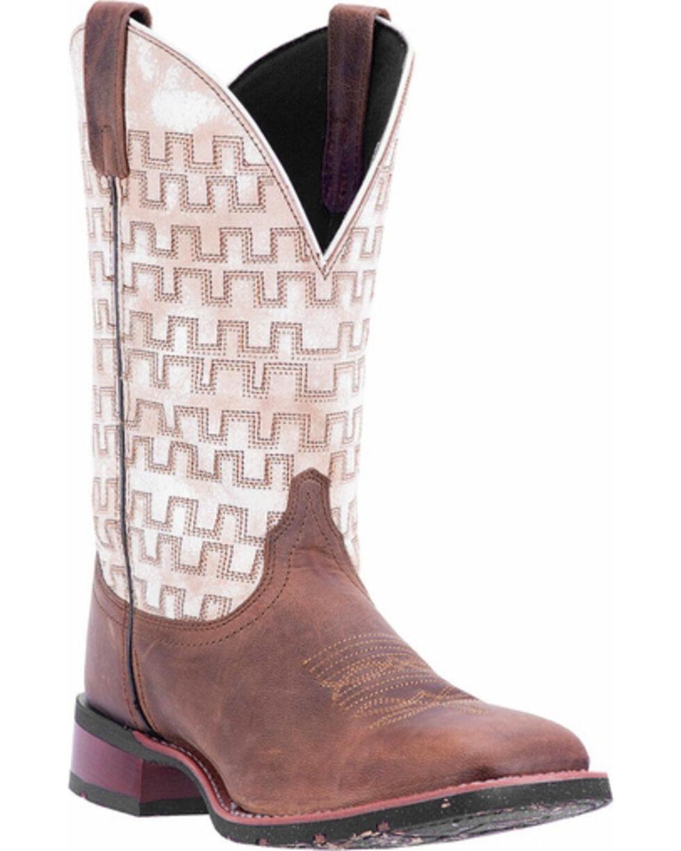 Laredo Men's Sand Stitched Western Boots - Square Toe , , hi-res