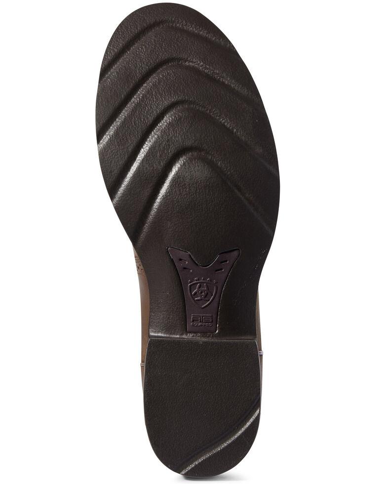 Ariat Men's Crepe Heritage Western Boots - Round Toe, Brown, hi-res