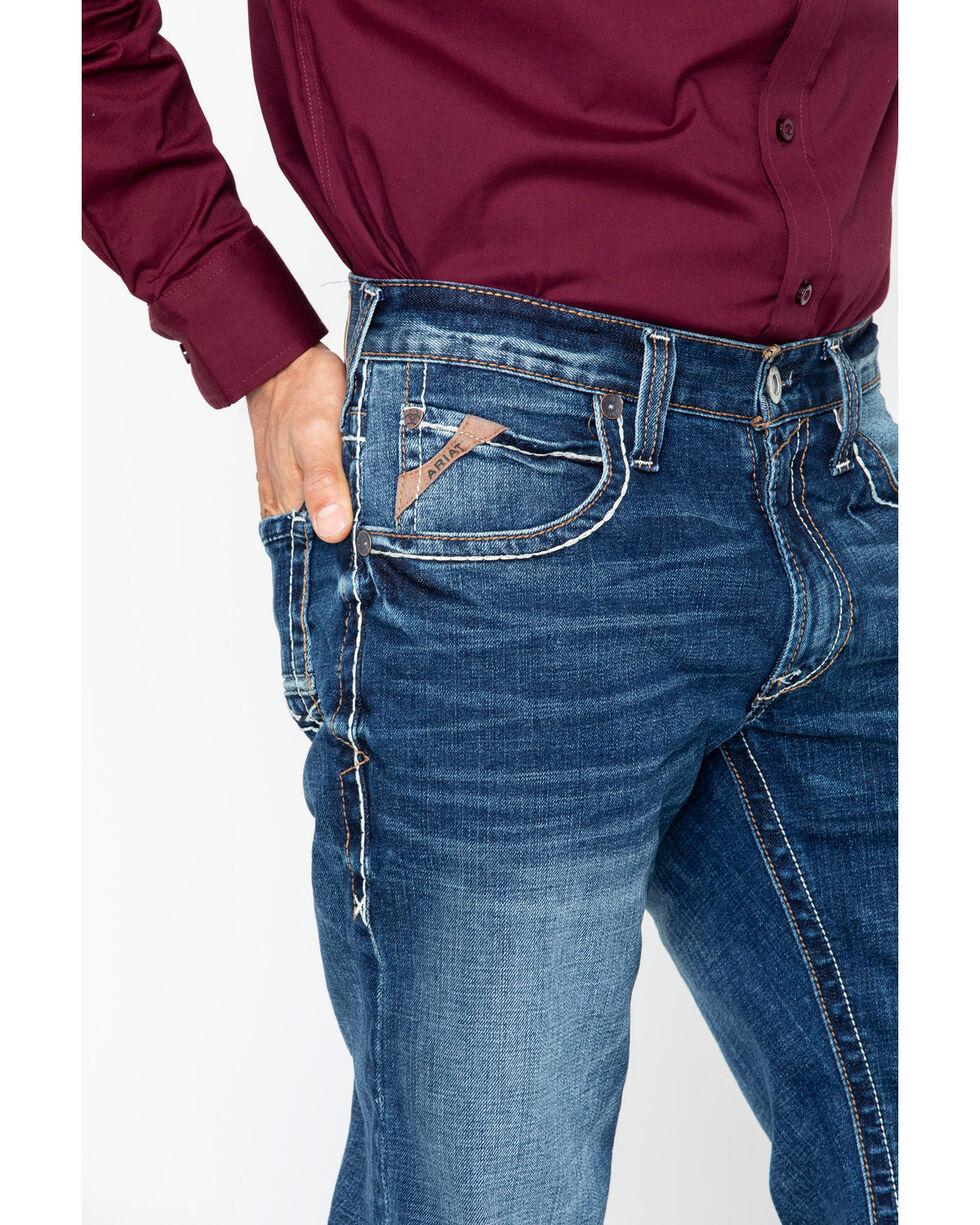 Ariat Men's M4 Preston Silverton Boot Jeans , Blue, hi-res