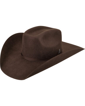 Bailey Men's Murphy II 2X Brown Cowboy Hat , Brown, hi-res