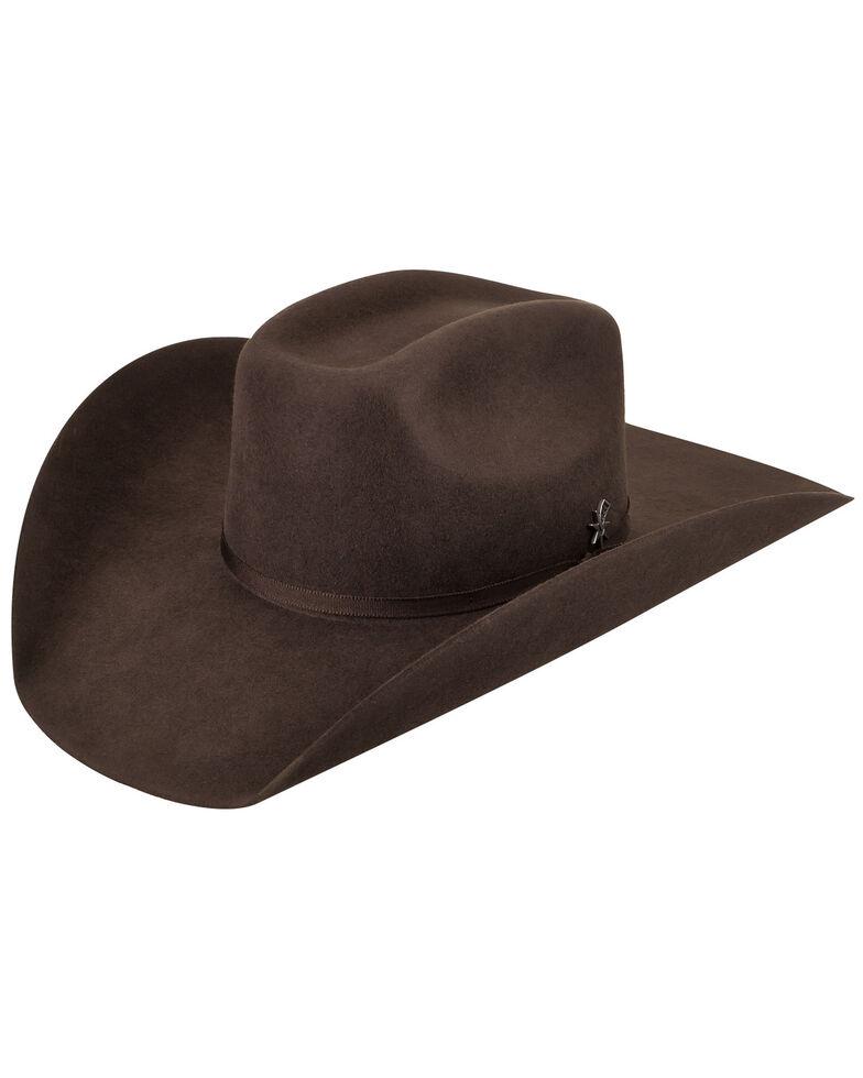 Bailey Men's Murphy II 2X Brown Cowboy Hat , Brown, hi-res
