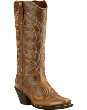 Ariat Women's Sheridan Western Boots, Bomber, hi-res