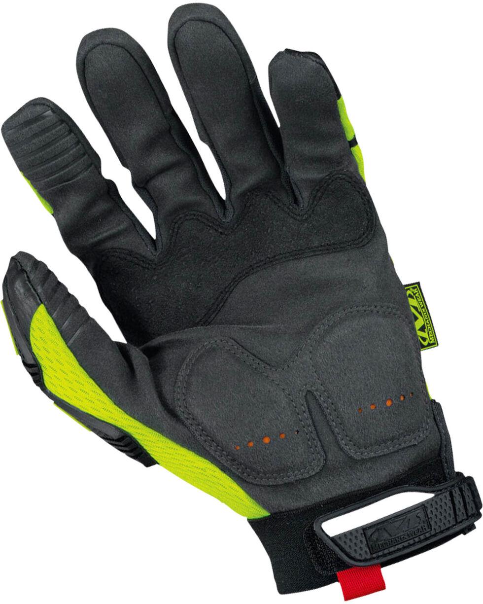 Mechanix Wear Hi-Viz M-Pact XD Gloves , Bright Yellow, hi-res